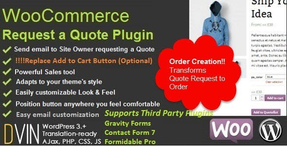WooCommerce Request a Quote        Nulled