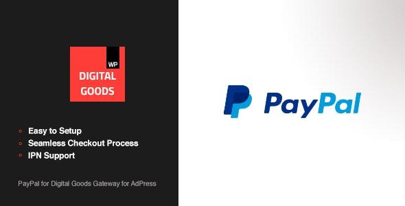 PayPal Digital Goods Gateway - AdPress - CodeCanyon Item for Sale