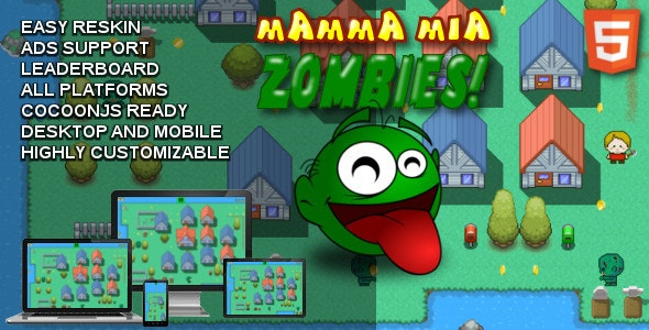 Mamma Mia Zombies! - CodeCanyon Item for Sale