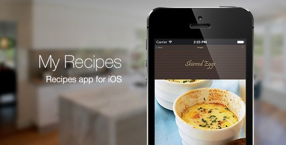 My Recipes - Recipe App for iOS App Source Code - CodeCanyon Item for Sale