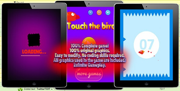 Touch the bird - CodeCanyon Item for Sale