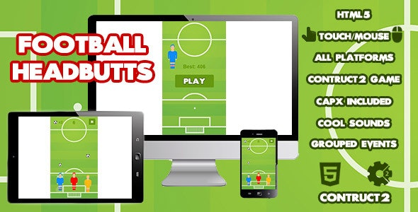 Football Headbutts Sports Game - CodeCanyon Item for Sale