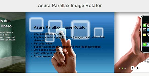 Asura Parallax Image Rotator