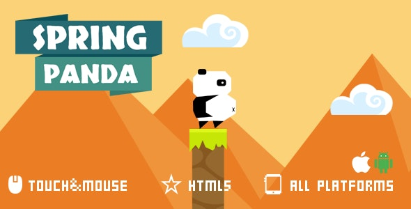 SPRING PANDA-HTML5 GAME - CodeCanyon Item for Sale