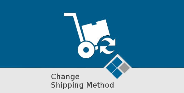 Medma change Shipping Method on Orders