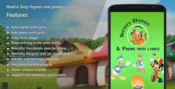 Nursery rhymes and poems with lyrics - Online