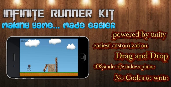 infinite runner kit - CodeCanyon Item for Sale