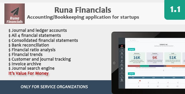 Runa Financials