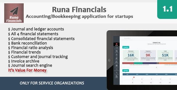 Runa Financials - CodeCanyon Item for Sale
