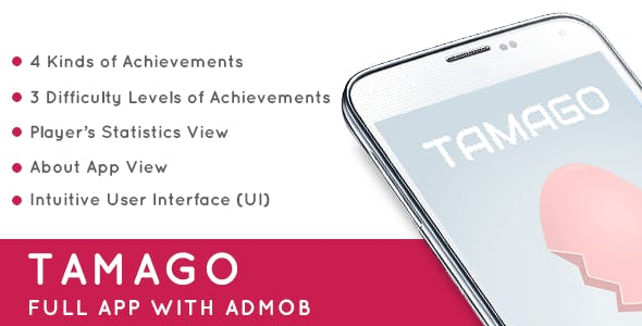 Tamago with AdMob