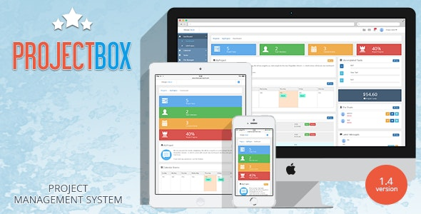 Project Box - Team Management Tool - CodeCanyon Item for Sale