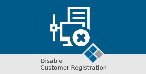 Medma Disable Customer Registration - CodeCanyon Item for Sale