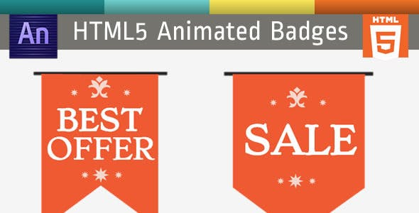 Animated HTML5 Badges & Labels