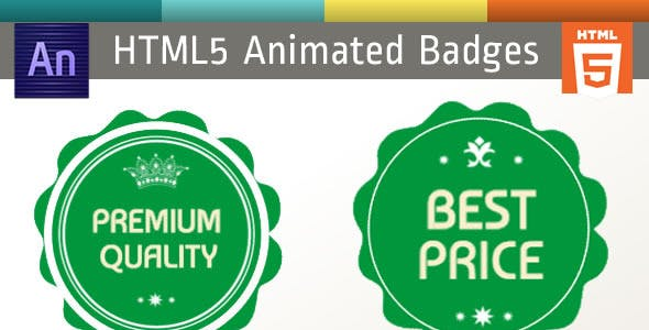 Edge Animate Badges HTML5