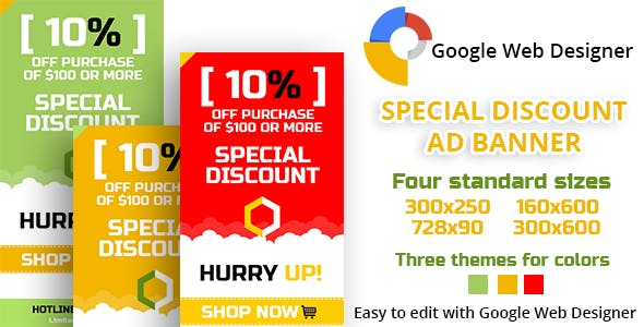 Special Discount Ad Banner