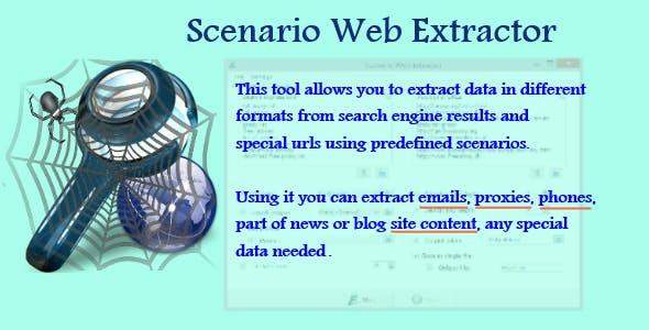 Scenario Web Extractor