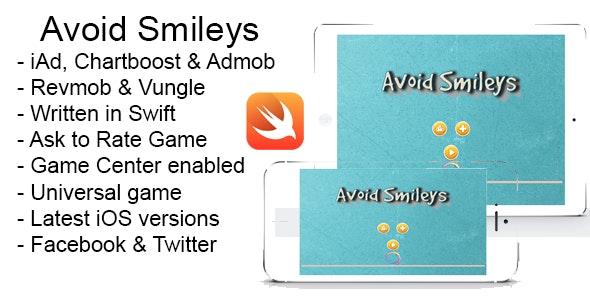 Avoid Smileys Swift iOS 8 Source Code iPad iPhone - CodeCanyon Item for Sale