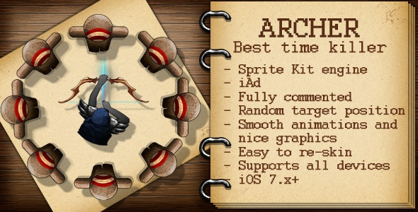 Archer - CodeCanyon Item for Sale