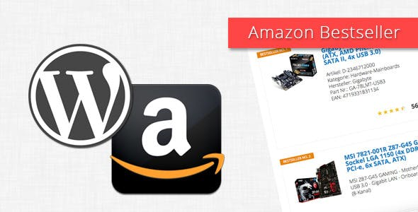 Amazon Bestseller for WordPress