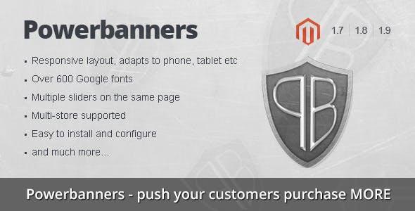 Powerbanners – Responsive banner slider