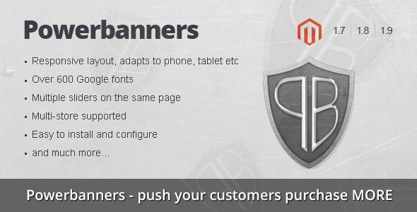 Powerbanners – Responsive banner slider - CodeCanyon Item for Sale