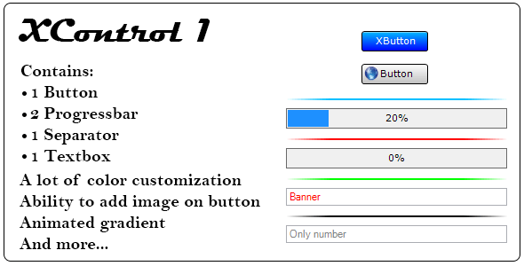 XControl 1, .Net custom control