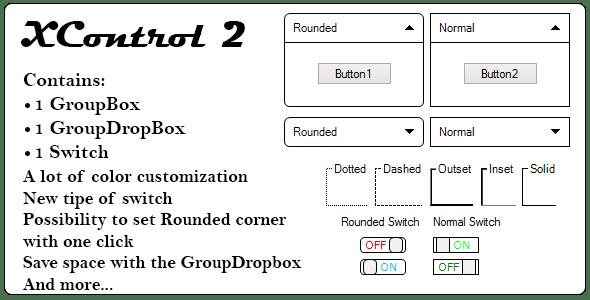 XControl 2, .Net custom control