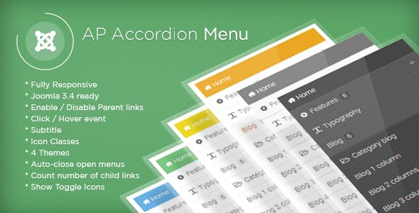 AP Accordion Menu - Joomla Module