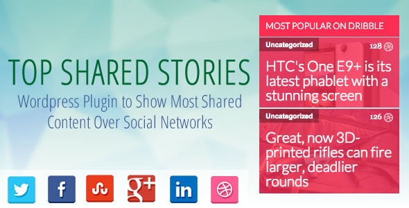 Top Stories- Most Popular Posts on Social Networks - CodeCanyon Item for Sale