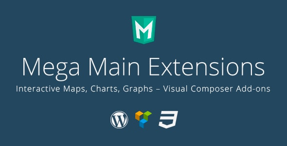 Interactive Maps, Charts, Graphs - VC Addons - CodeCanyon Item for Sale