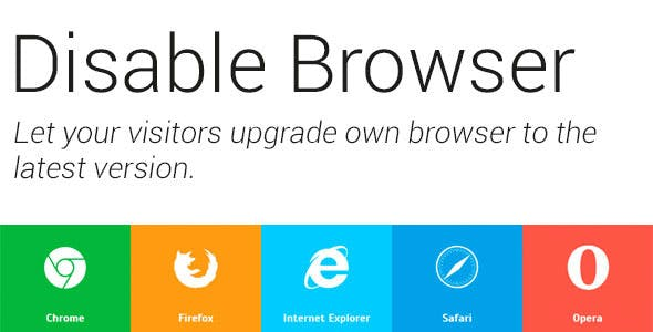 Disable Browser