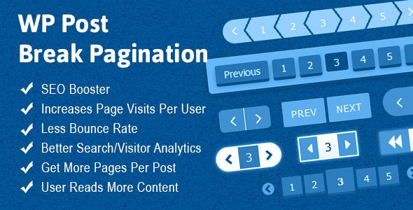 WP Post Break Pagination - CodeCanyon Item for Sale