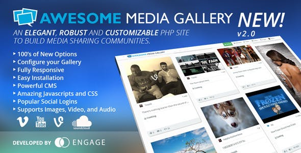 Awesome Media Gallery
