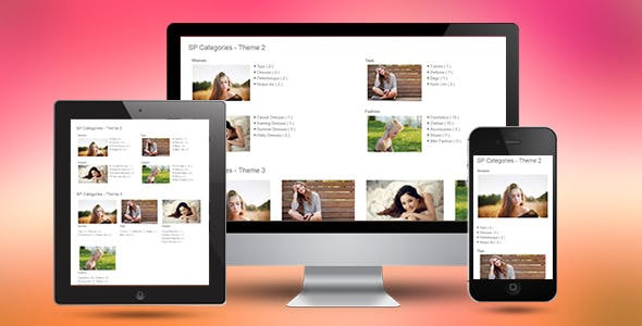 SP Categories - Responsive Prestashop Module