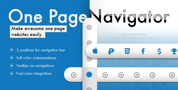 One Page Navigator for WPBakery Page Builder
