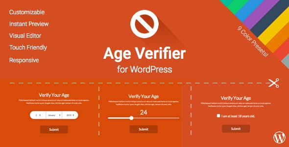 Age Verifier for WordPress        Nulled
