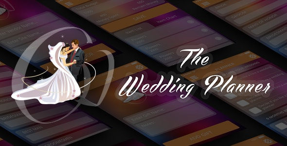 Wedding planner app - CodeCanyon Item for Sale