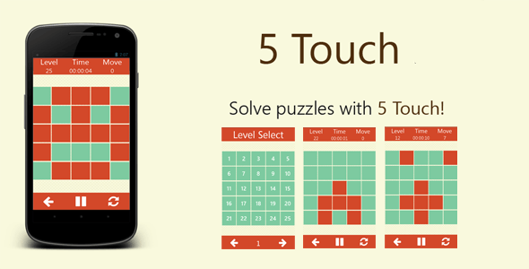 5 Touch - Puzzle Games