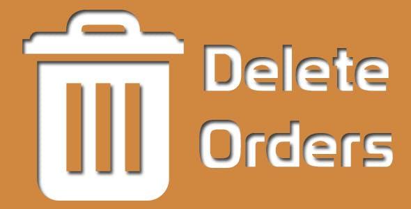 Magento Delete Orders