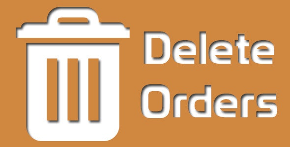 Magento Delete Orders - CodeCanyon Item for Sale