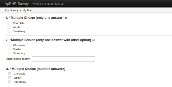 php surveys php survey by apphpcc codecanyon 2577