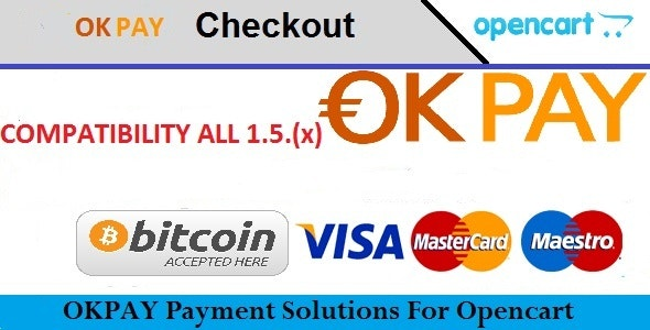 Opencart OKPAY Payment Extensions - CodeCanyon Item for Sale