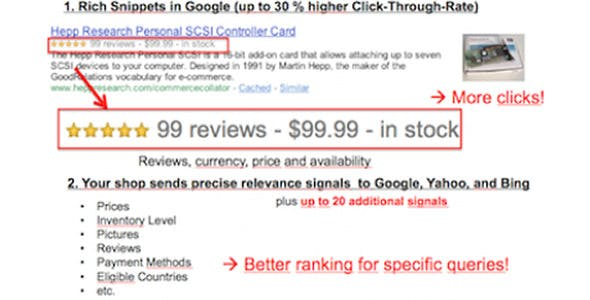 Google Rich Snippets - SEO Structured Data (microdata) for OpenCart