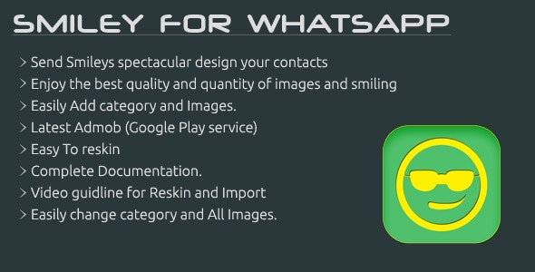 Smiley For WhatsApp - CodeCanyon Item for Sale