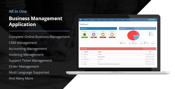 All in One Business Management Application - CodeCanyon Item for Sale