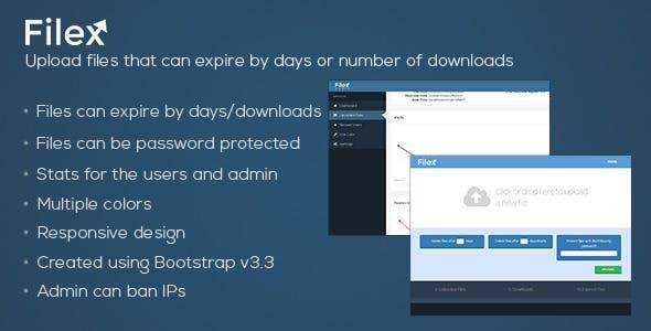 Filex - File Uploader with Expiration