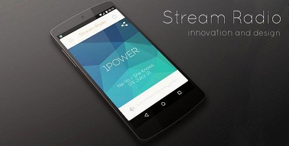 Stream Radio - Single Station - CodeCanyon Item for Sale