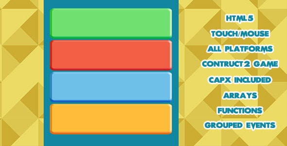 Tap the Right Color HTML5 Game  - CodeCanyon Item for Sale