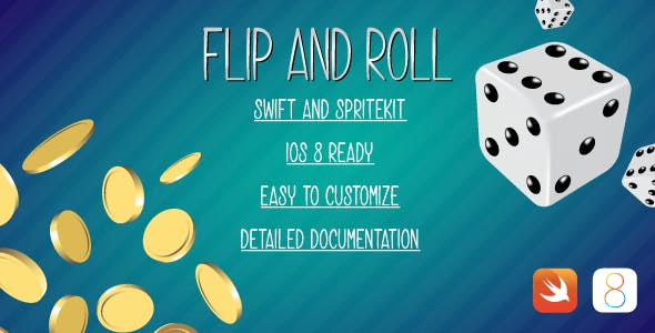Flip&Roll Apple Watch app in Swift