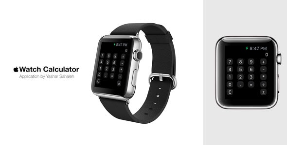 Apple Watch (iWatch) Calculator in Swift - CodeCanyon Item for Sale